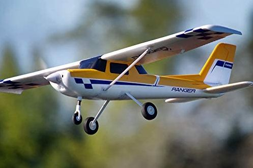 An RC trainer plane