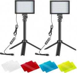 Neewer Dimmable 5600K USB LED Video Light 2-Pack